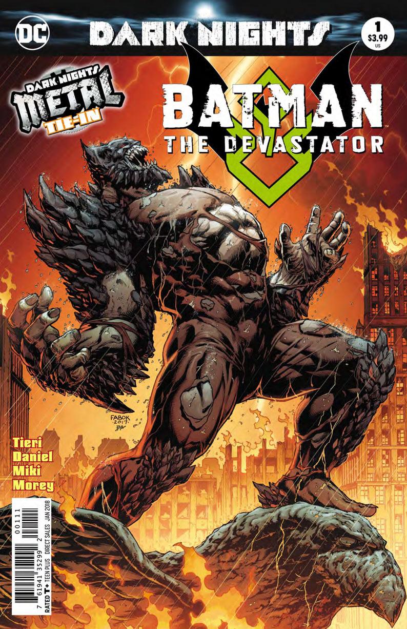 Batman The Devastator Cover - DC Comics News