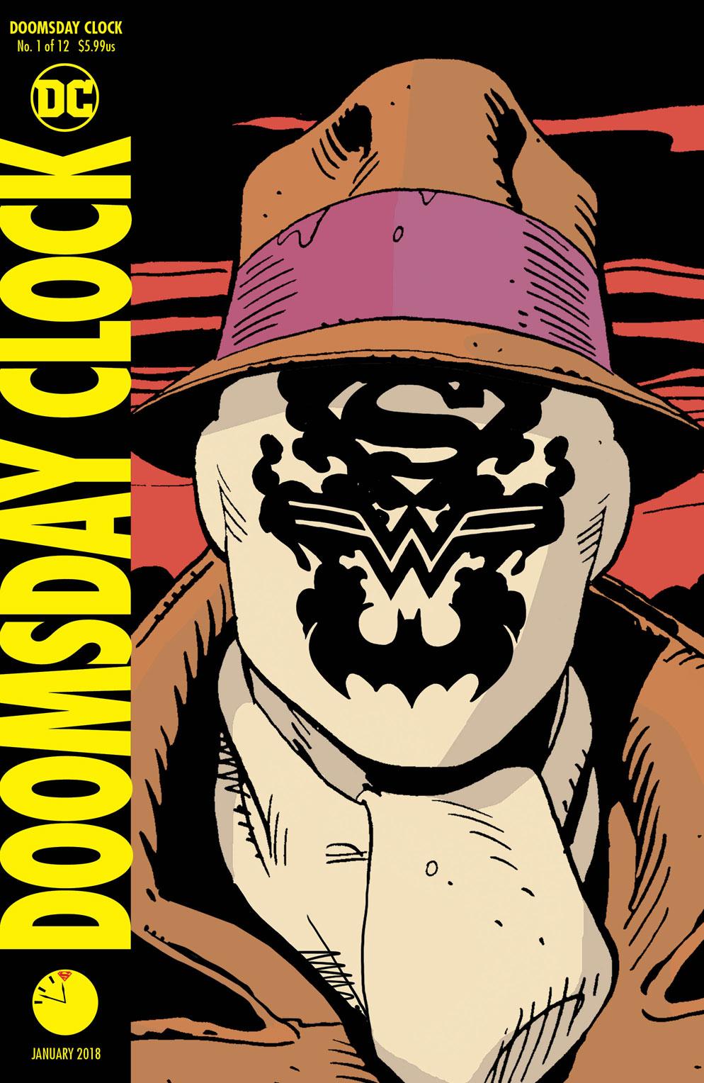Doomsday Clock Lenticular - DC Comics News