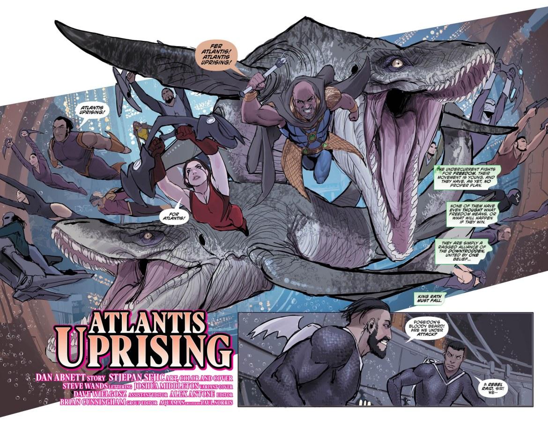 Aquaman 30 2-3 - DC Comics News