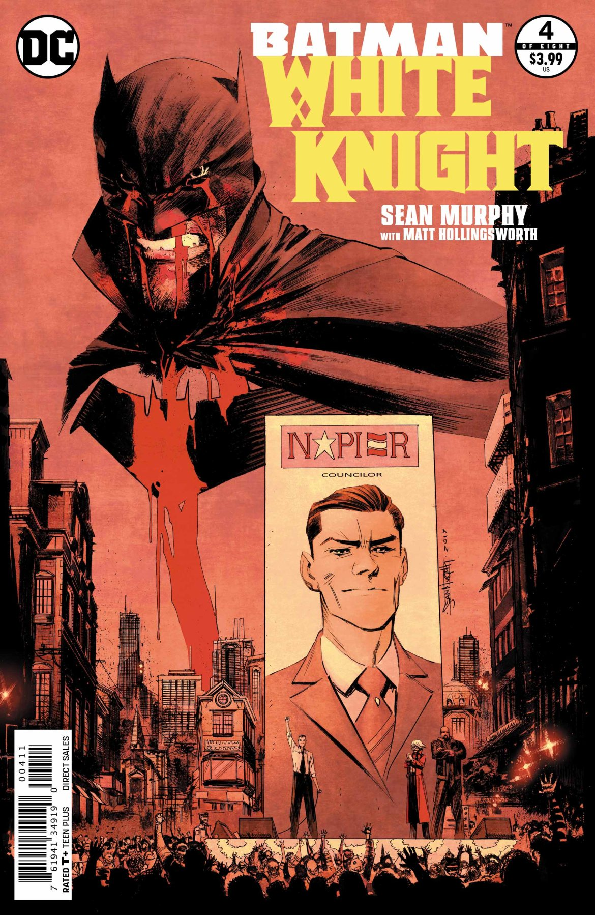 Batman White Knight #4 - DC Comics News
