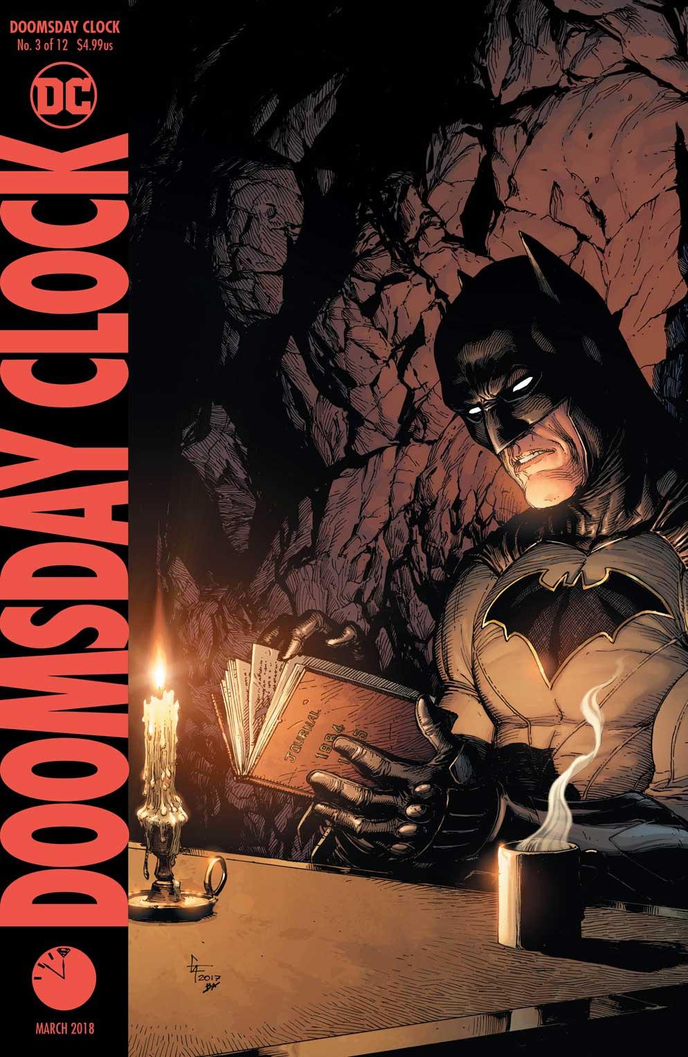 Doomsday Clock 3 Variant - DC Comics News