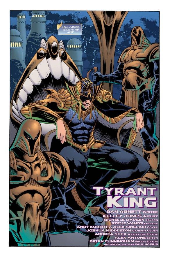 Aquaman 34-2 - DC Comics News