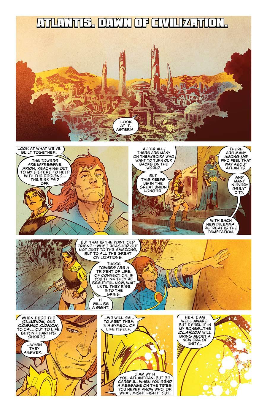 Aquaman Drowned Earth - 1-1 - DC Comics News