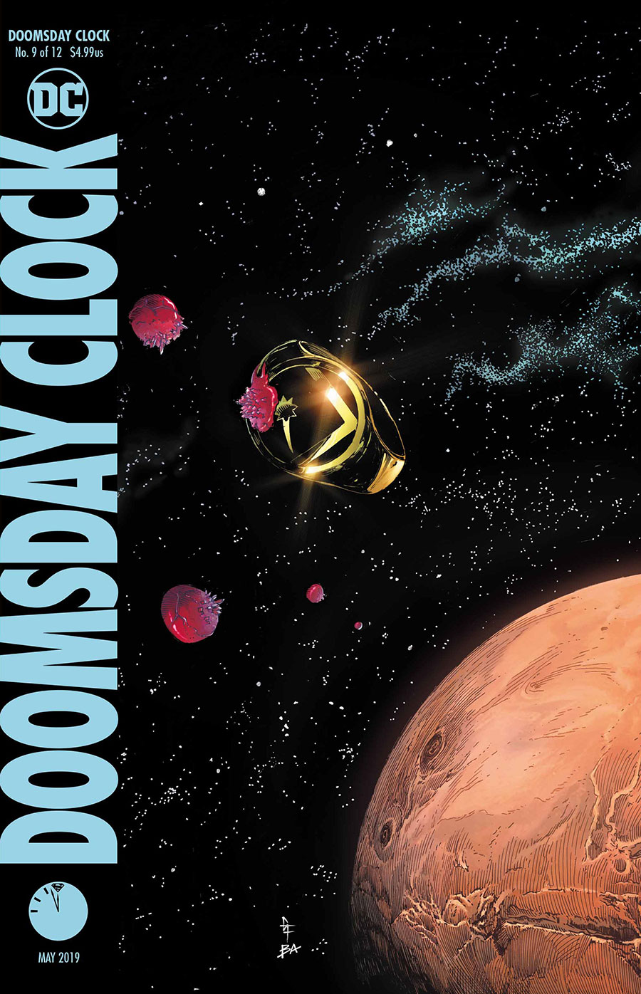 Doomsday Clock Cover 9