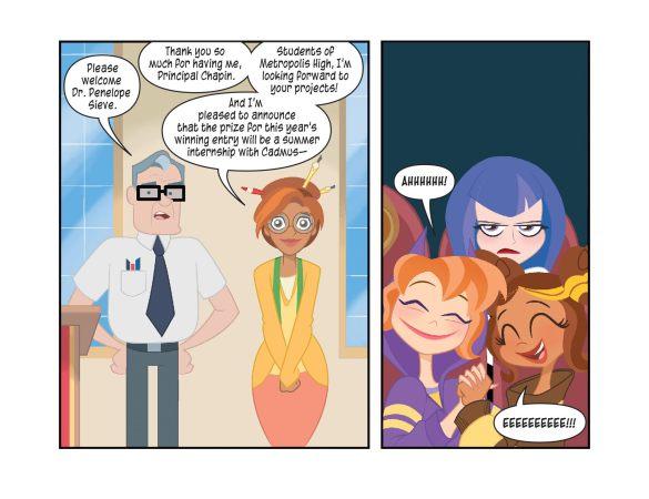DC Super Heros Girls dc comics news
