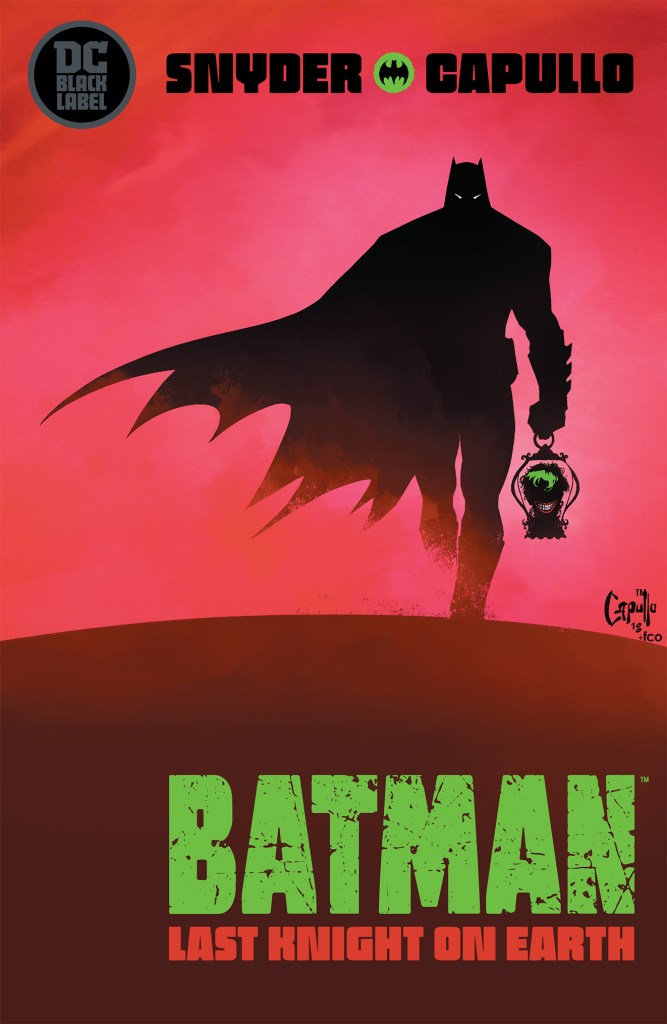 batman last knight on earth dc comics news