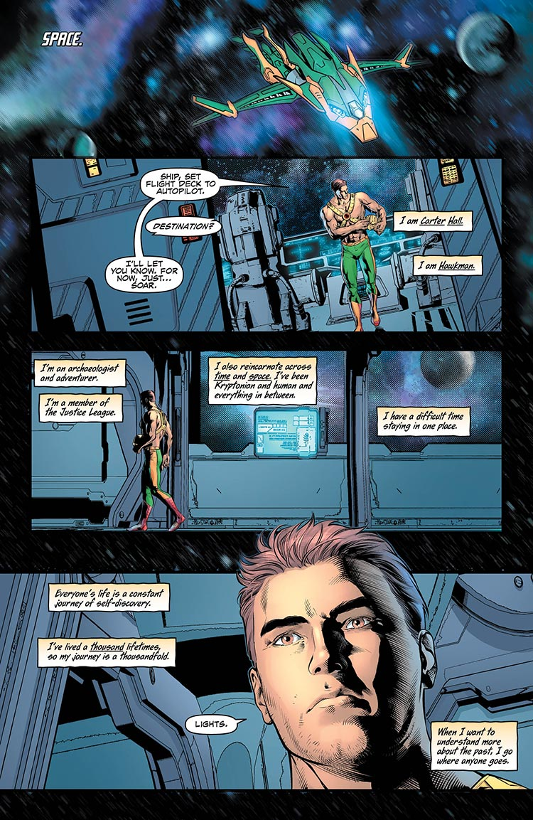 Hawkman 13 Page 1