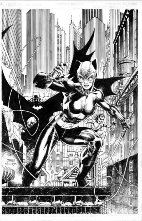Catwoman Jim Lee