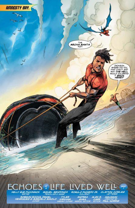 Jackson Hyde salvaging Manta Tech