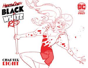 Harley-Quinn-Black-White-Red-#8