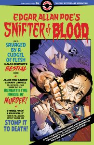 Edgar Allan Poe's Snifter of Blood #4 Cover DC Comics News