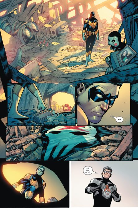Future State Teen Titans 1 p 3 DC Comics News