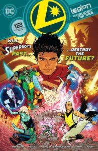 LSH 12 Cover DC Comics News