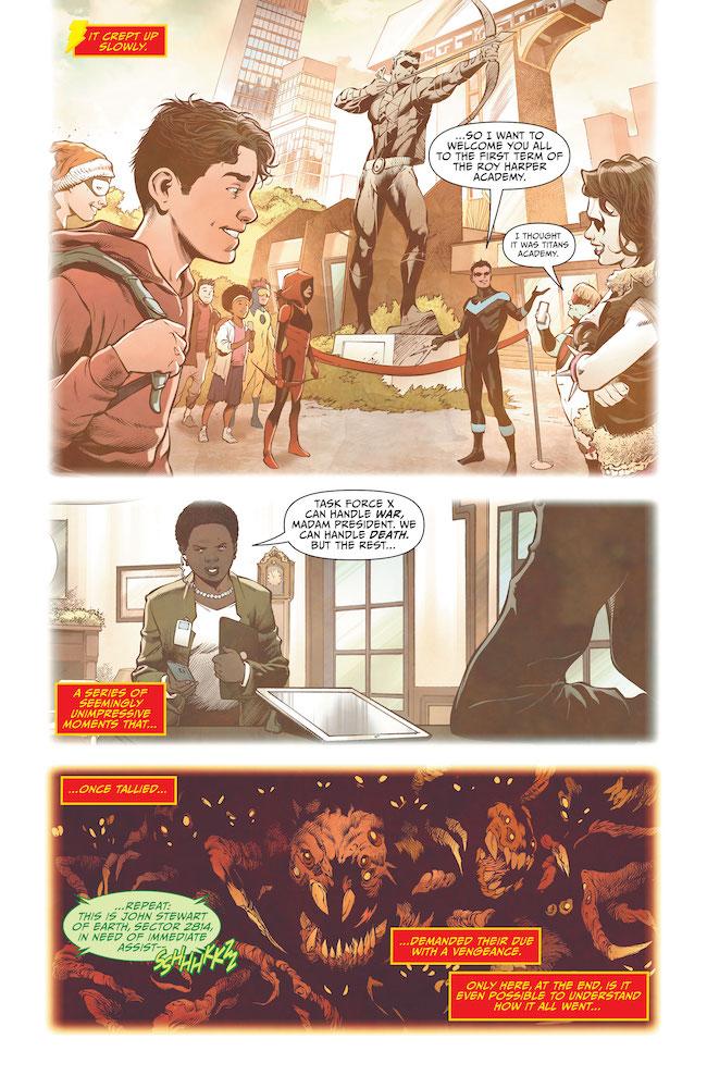 Review: Future State: Shazam #1-Roy-Harper-Academy-Creeping-Danger-DC Comics News Reviews