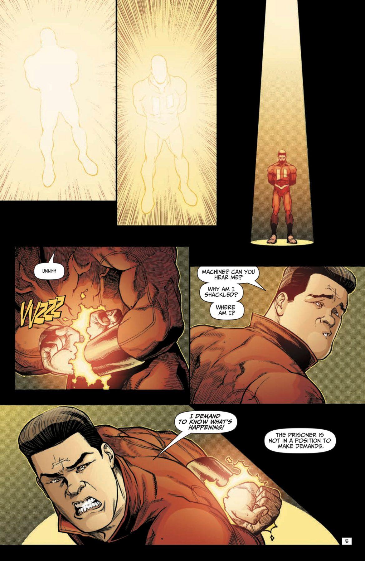 Penultiman #5 DC Comics News