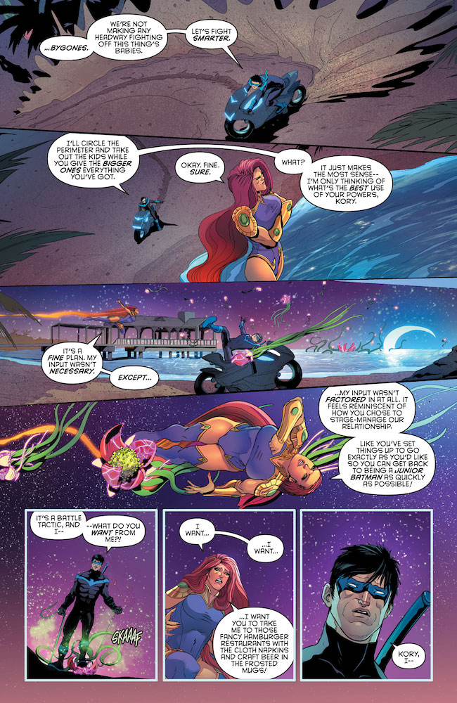 Review-Love-Is-A-Battlefield-Starfire-and-Nightwing-Talk-Tactics-and-Wants-DC-Comics-News-Reviews