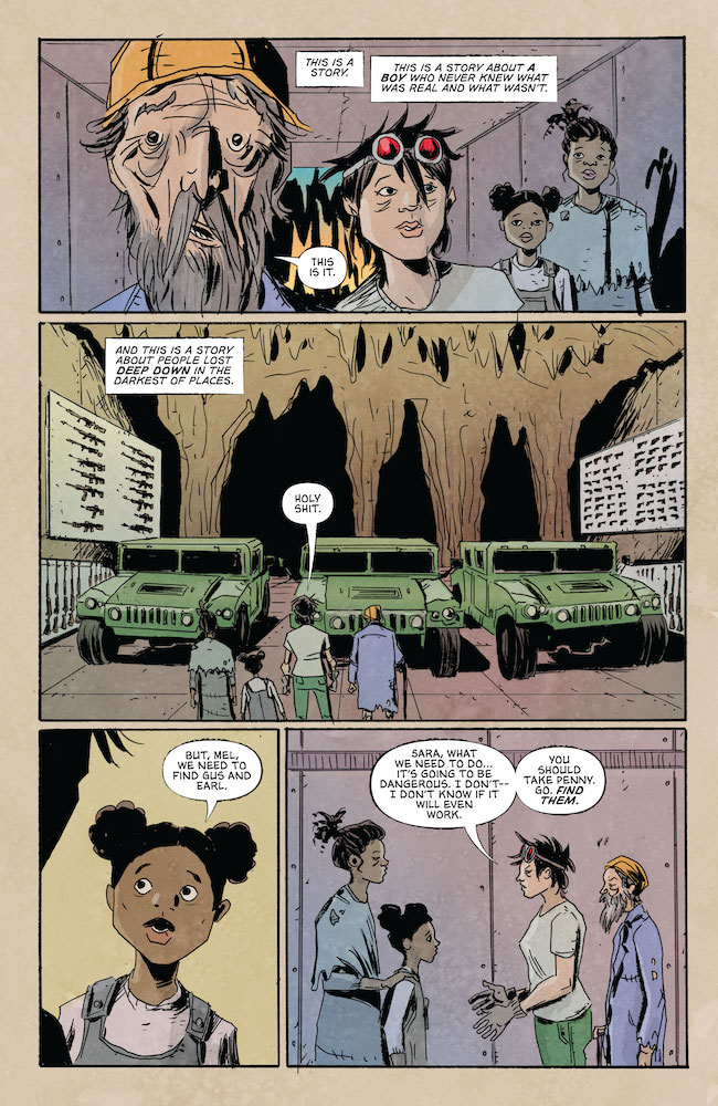 Friends of Gus face the Dark Places Indie Comics Review