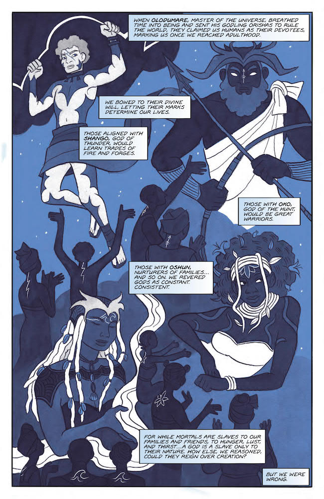 The Orishas are the Godlings Jim Henson's The Storyteller: Trickers #2