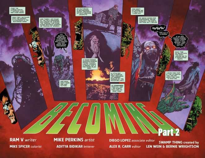 The Swamp Thing 2 DC Comics News