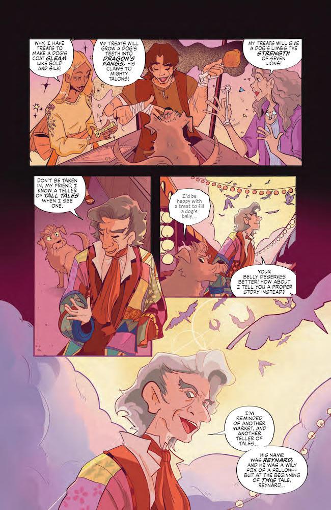 Indie Comics Review Jim Henson Storyteller Tricksters #3 DC Comics News Reviews