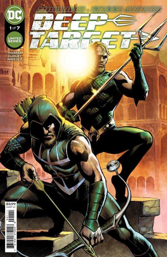 Aquaman Green Arrow Deep Target