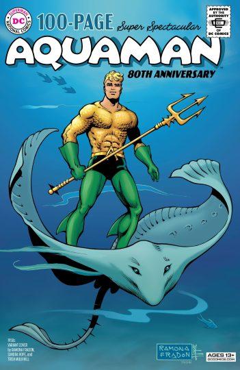Aquaman 80th Anniversary Fradon DC Comics News