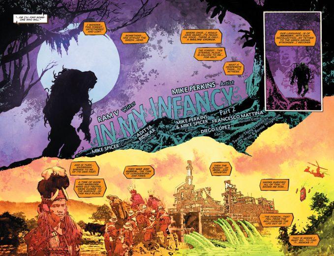 The Swamp Thing 7 DC Comics News