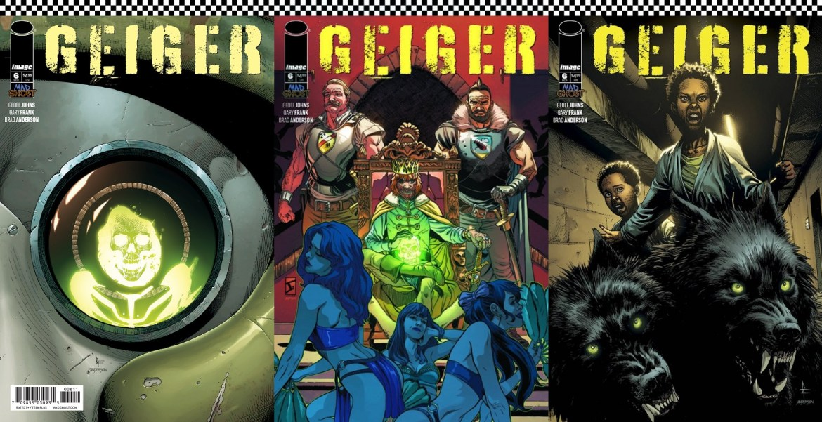 Geiger #6 Covers