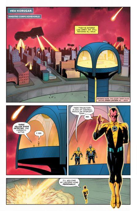 Green Lantern 2021 Annua DC Comics News