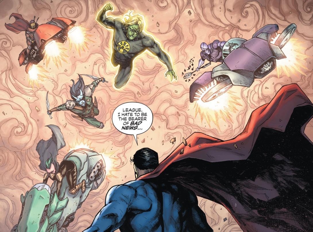 Justice League: Last Ride #5 - DC Comics News
