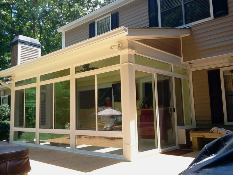 DC Enclosures  Sunroom Patio Enclosures Screen Enclosure