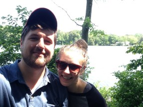 We hiked to see the pond at Killens Pond State Park