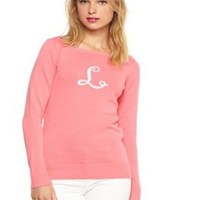 monogram monday: lilly pulitzer sweater