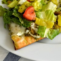 Chopped Greek Salad Pizza