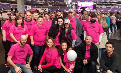 DC Group employees making strides against breast cancer walk