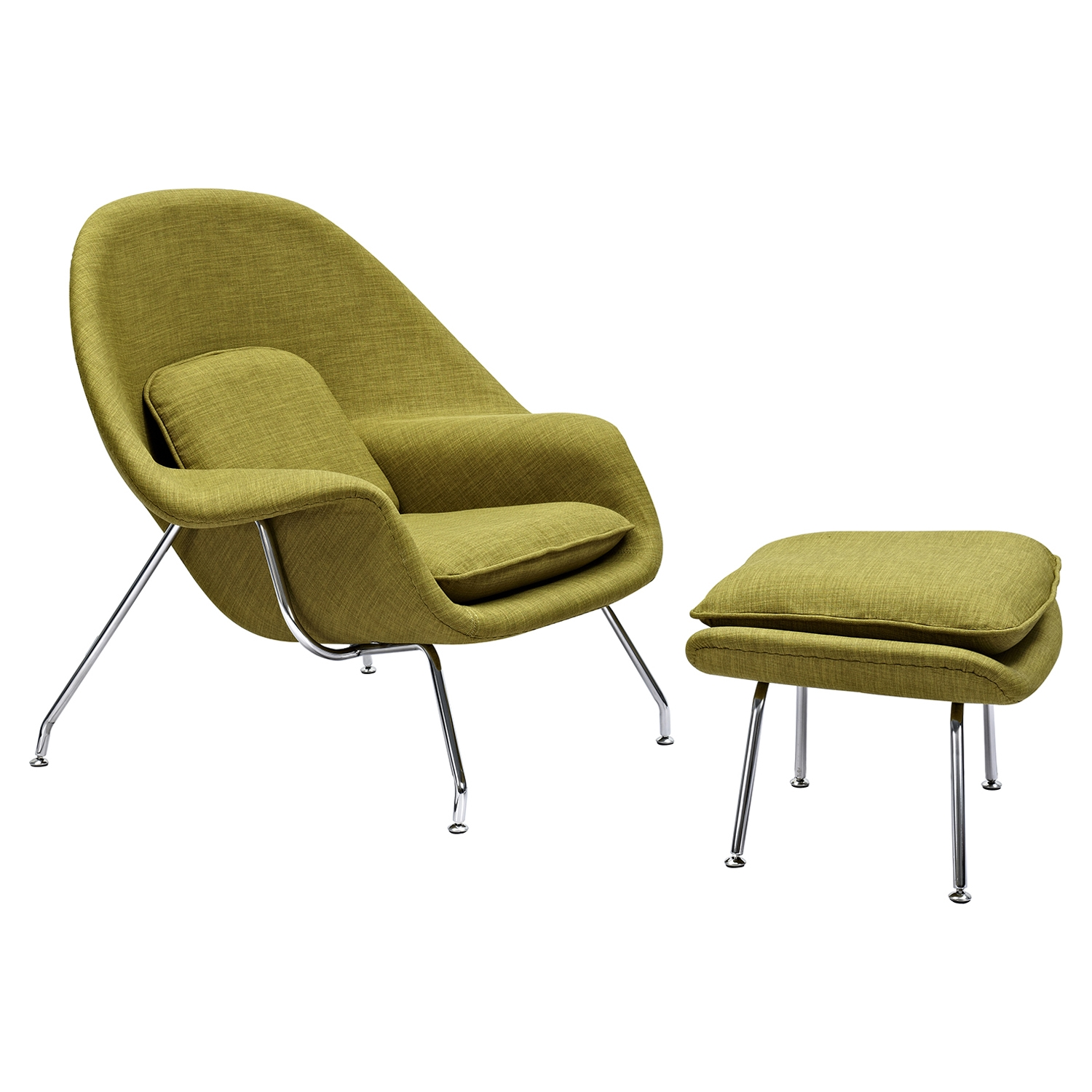 Green Upholstered Chair Saro Upholstered Chair Avocado Green
