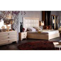 Armani Xavira Glam Champagne Bedroom Set | DCG Stores