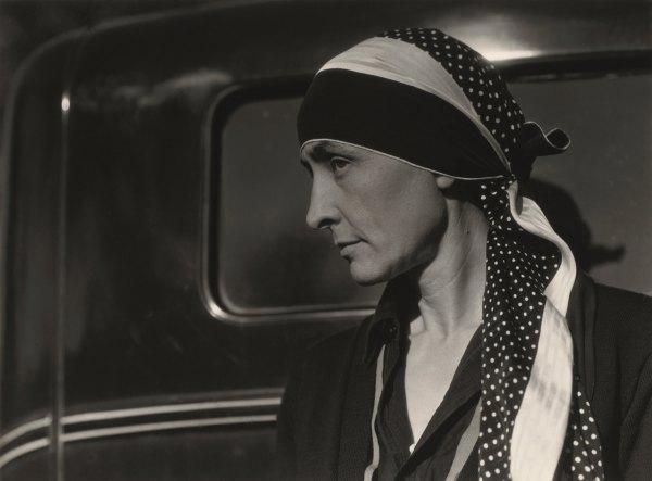 Georgia Keeffe Portrait Of Woman Time