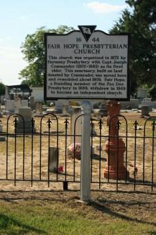 Fair Hope Presbyterian Church #44