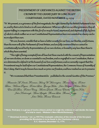 Long Bluff Declaration