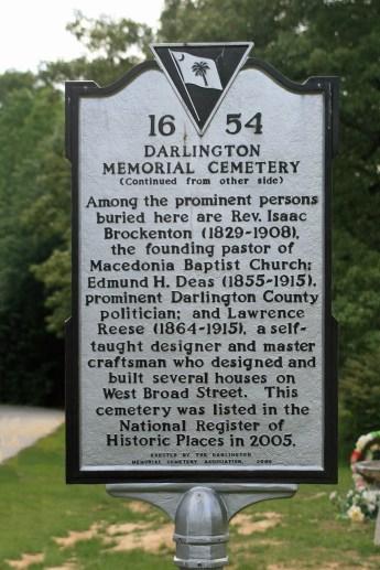 Darlington Memorial Cemetery #54