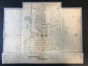 Land Grant for William Falconer - 1801