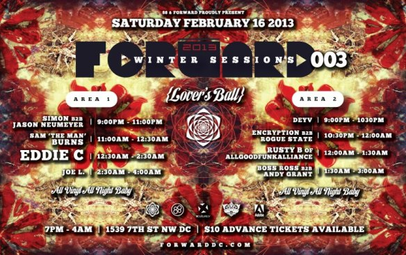 FORWARD Winter Sessions 003: LOVERS BALL w/ EDDIE C