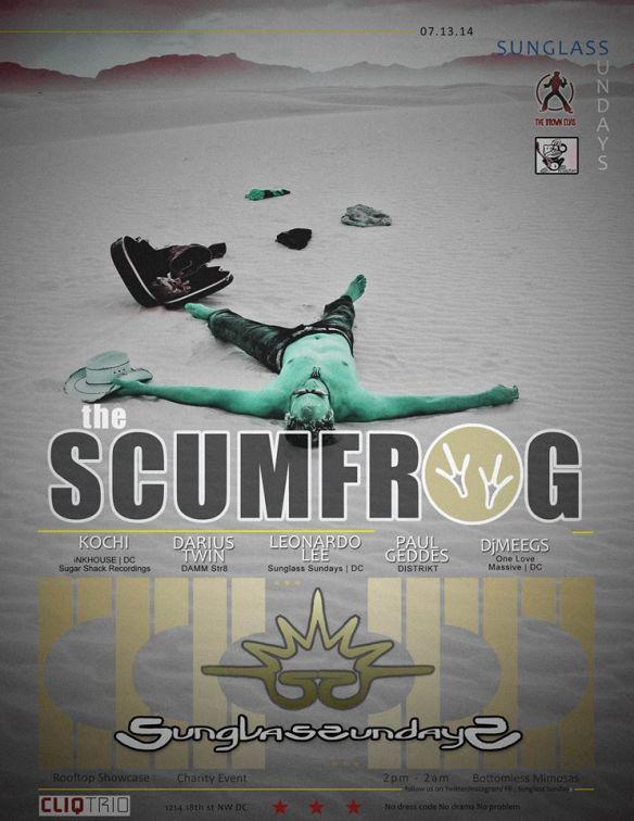 SUNGLASS SUNDAYS | w/ The SCUMFROG | 4 hour set | Rooftop Charity Event