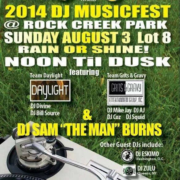 DJ Music Fest @ Rock Creek Park