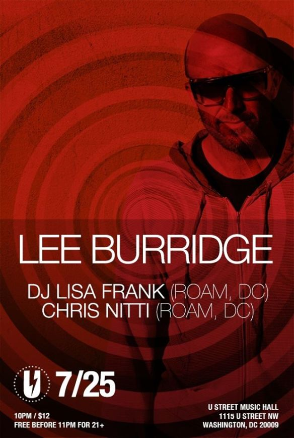 LEE BURRIDGE, DJ Lisa Frank, Chris Nitti