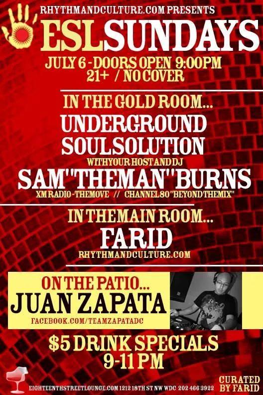 ESL Sundays with Sam Burns, Farid and Juan Zapata