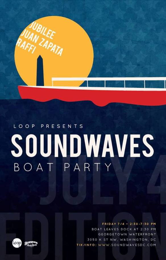 Sound Waves Boat Party July 4
