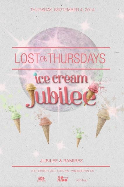 Lost on Thursdays: Jubilee's Ice Cream Party feat. Ramirez