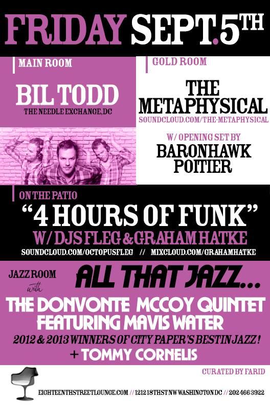 4 Hours of Funk DC @ ESL w/ Graham and Fleg